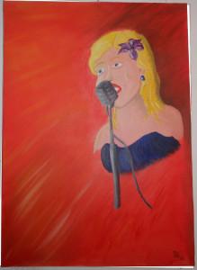 Cantante Jazz 100x70